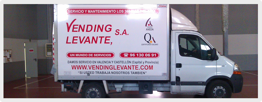 Vending Levante